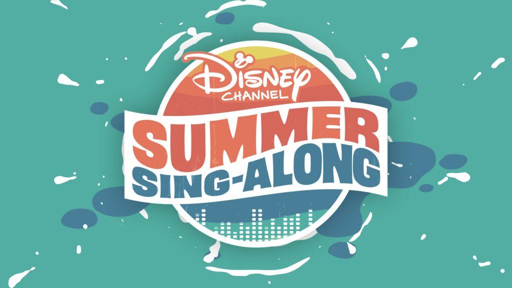 DISNEY CHANNEL SUMMER SING-ALONG - Logo. (Disney Channel)