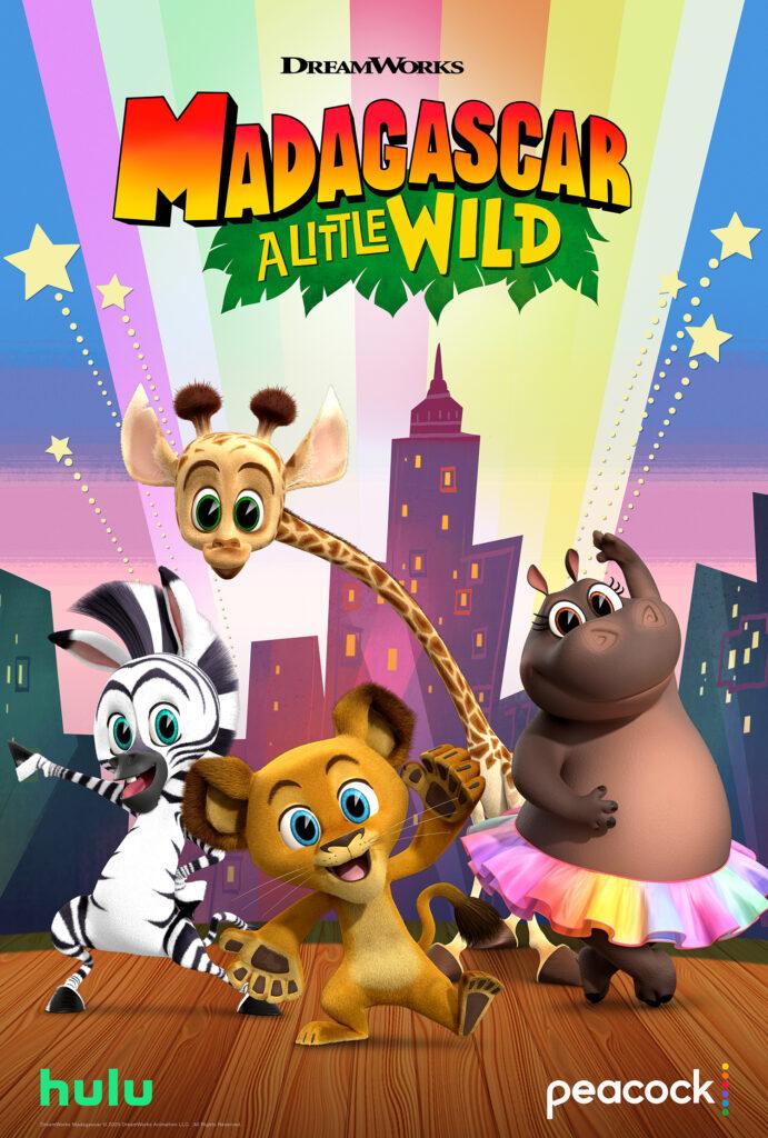 Melman, Alex, Gloria, Marty MADAGASCAR: A LITTLE WILD