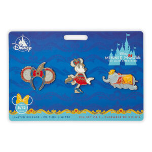 Minnie Mouse- The Main Attraction Pin Set – Dumbo, The Flying Elephant