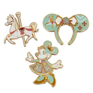 Minnie Mouse The Main Attraction Pin Set – King Arthur Carrousel