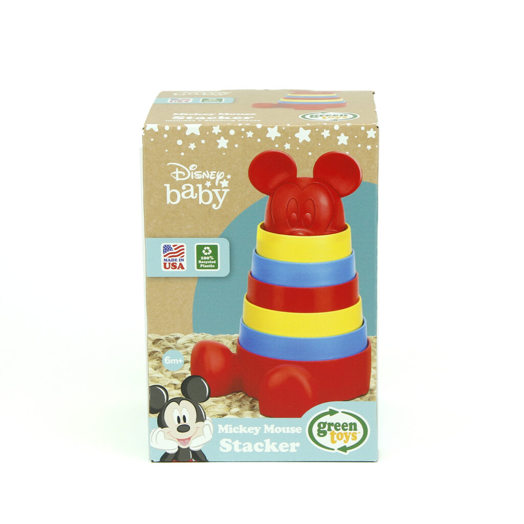 Green Toys Disney Baby Exclusive Minnie Mouse Stacker