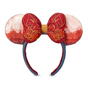 Minnie Mouse The Main Attraction Big Thunder Mountain Railroad ear headband