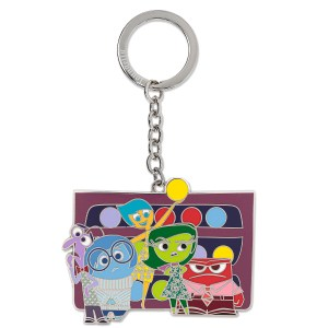 Inside Out Enamel Keychain byLoungefly