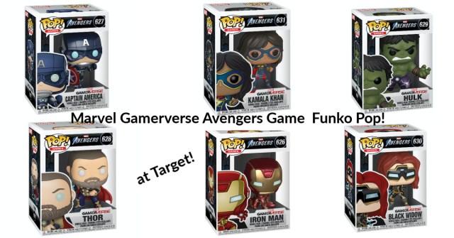 marvel gamerverse avengers funk pops