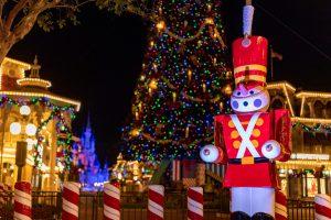 Holiday Decor at Magic Kingdom Park