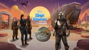 The Mandalorian Event in Disney Magic Kingdoms