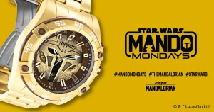 Mandalorian watch from Invicta
