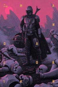 The Mandalorian- Season One print from Mondo Shop