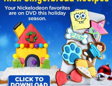nickelodeon gingerbread recipes