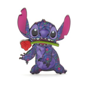 Stitch Crashes Disney Pin