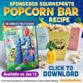 spongebob popcorn bar