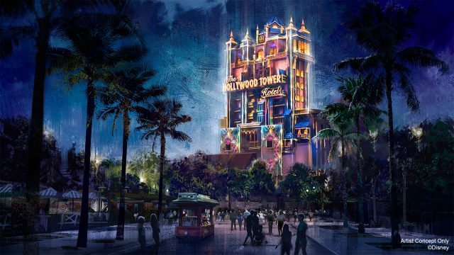 Disney Hollywood Tower Hotel Beacon of Magic