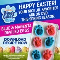 blue's clues deviled eggs