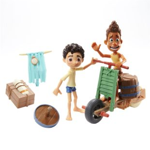 Disney Pixar Luca Scooter Build & Crash Pack