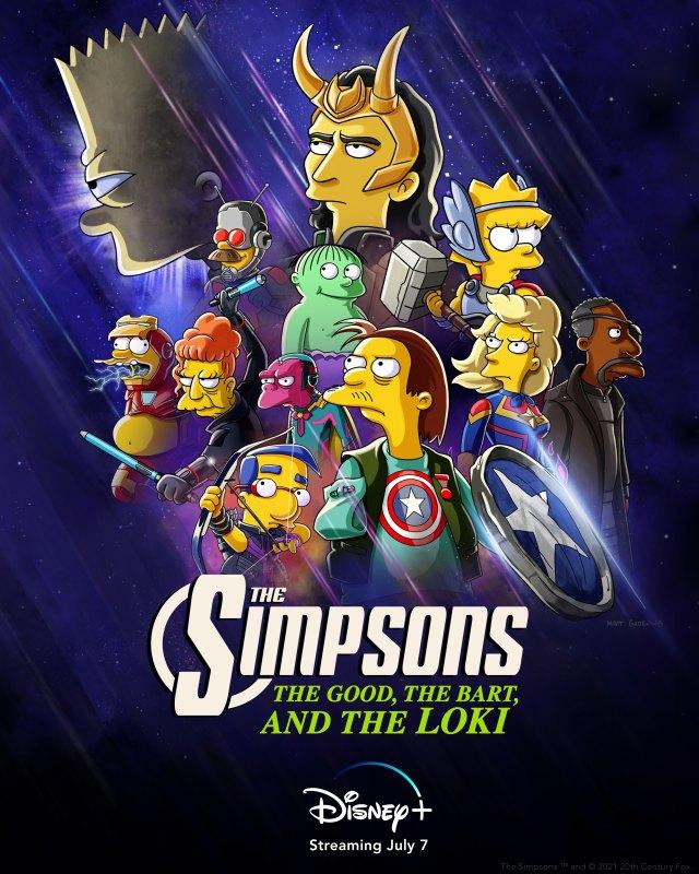 simpsons good bart loki