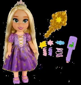 Disney Princess Magic in Motion Hair Glow Rapunzel Doll from JAKKS Pacific