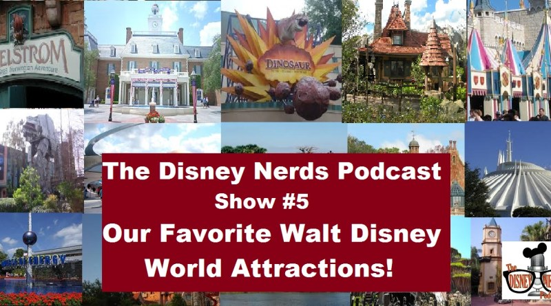 What's your favorite WDW Attraction?