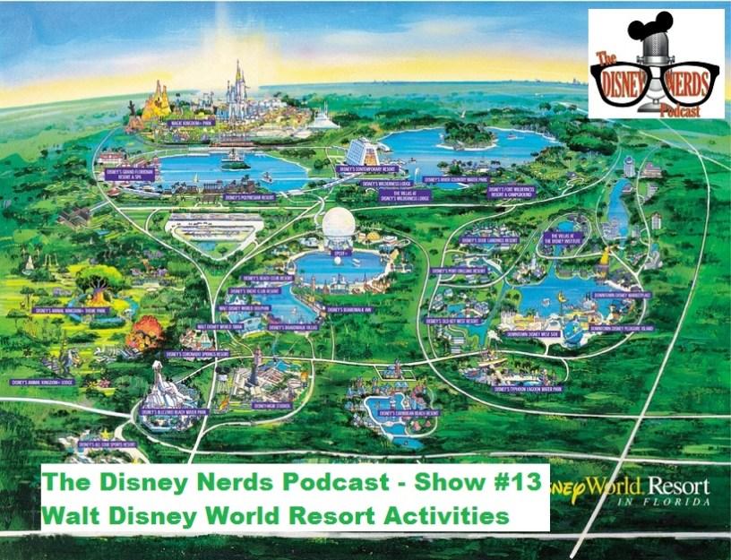Walt Disney World Resort Activities