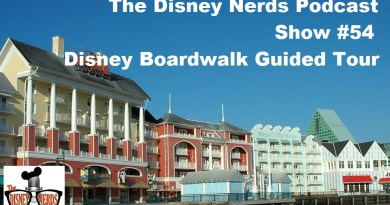 Disney Boardwalk Tour