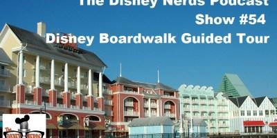 Disney Boardwalk Tour