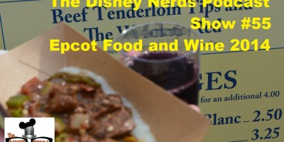 Epcot Food and Wine 2014