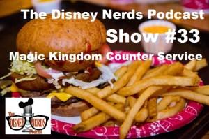 Magic Kingdom Counter Service