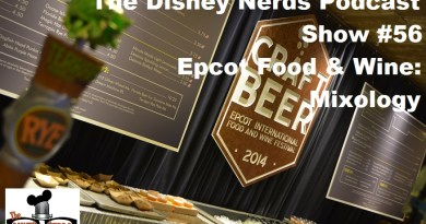 Epcot Food and Wine: Mixology