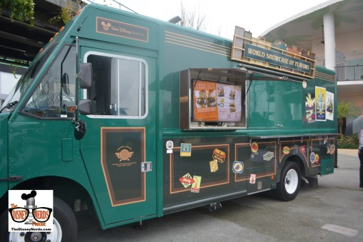 """The Food Truck Park is great.... 4 Trucks each themed to a park. World Showcase of Flavors """"inspired by Epcot"""""""