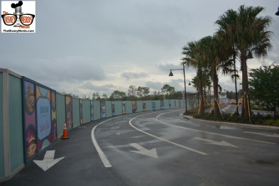 The Parking lots are loaded with walls...