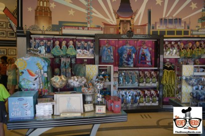Legends of Hollywood is now a Frozen Merchandise Showcase.