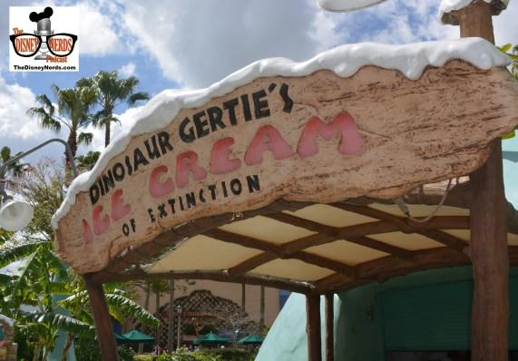 Gertie's is open and serving ice cream...