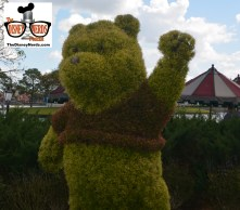 Headed over to Epcot - Flower and Garden Festival 2015 is only a few days away... some Topiary's are already in place.