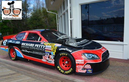 A Richard Petty car was located new the ESPN Club for the Daytona 500 - If your interested in driving or riding your time is limited.