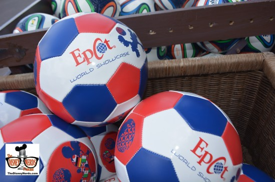 New Epcot World Showcase Soccer Balls at the African Outpost