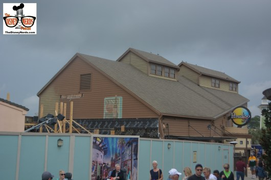 Disney Springs Concept Art and Construction