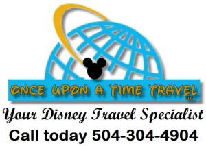 "The Disney Nerds Podcast is brought to you by ""Once Upon a Time Travel"" your Disney Travel Specialist - Call today 504-304-4904"