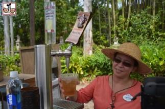 New Drink Kiosk in Asia near Expedition Everest - Smirnoff Raspberry Lemonade and Captain Morgan Spiced Tea.