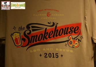The Smokehouse T-Shirt - Epcot International Flower and Garden Festival 2015
