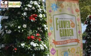 Epcot International Flower and Garden Festival.