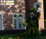 Capital Hook as seen in the United Kingdom - Epcot International Flower and Garden Festival 2015