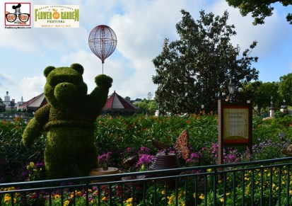 Winnie the Pooh and the Pollinator's Parade - Epcot International Flower and Garden Festival 2015