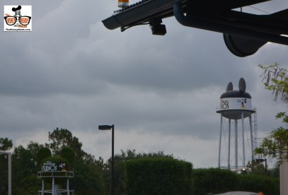 Now a rare view of the Earful tower from Darths Mall