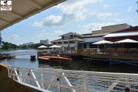View of the Boat House from the Dockside Bar