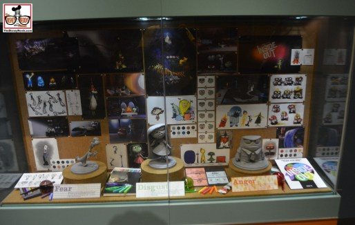 Inside Out props featured in the animation building - the last movie to be featured - but it didn't make the cut for the film - Big Hero 6 is still in the attraction.