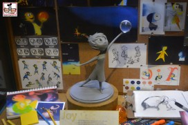 Inside-Out Concept art in the Animation Building. The Last Coming Attractions posters - The Magic of Disney Animation - Building will be closing for good July 12, 2015!