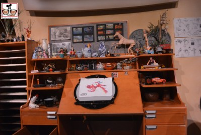 The Magic of Disney Animation - a closer look at the Animators desk - Good bye old Friend.