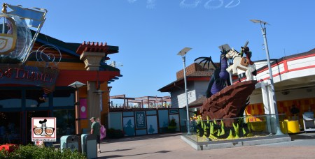 New Parking Garage between Lego and World of Disney