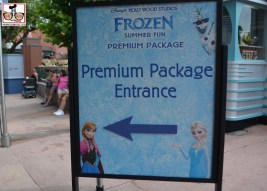 The Premium Package features VIP Parade Viewing, Fastpass to the sing alone and fireworks dessert party.