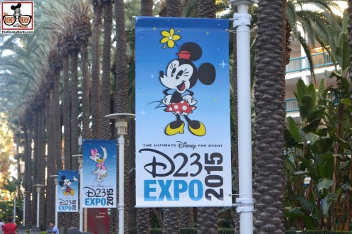Banners everywhere - D23 Expo 2015 is here!!