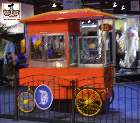 An original 1955 Popcorn cart form Main street...